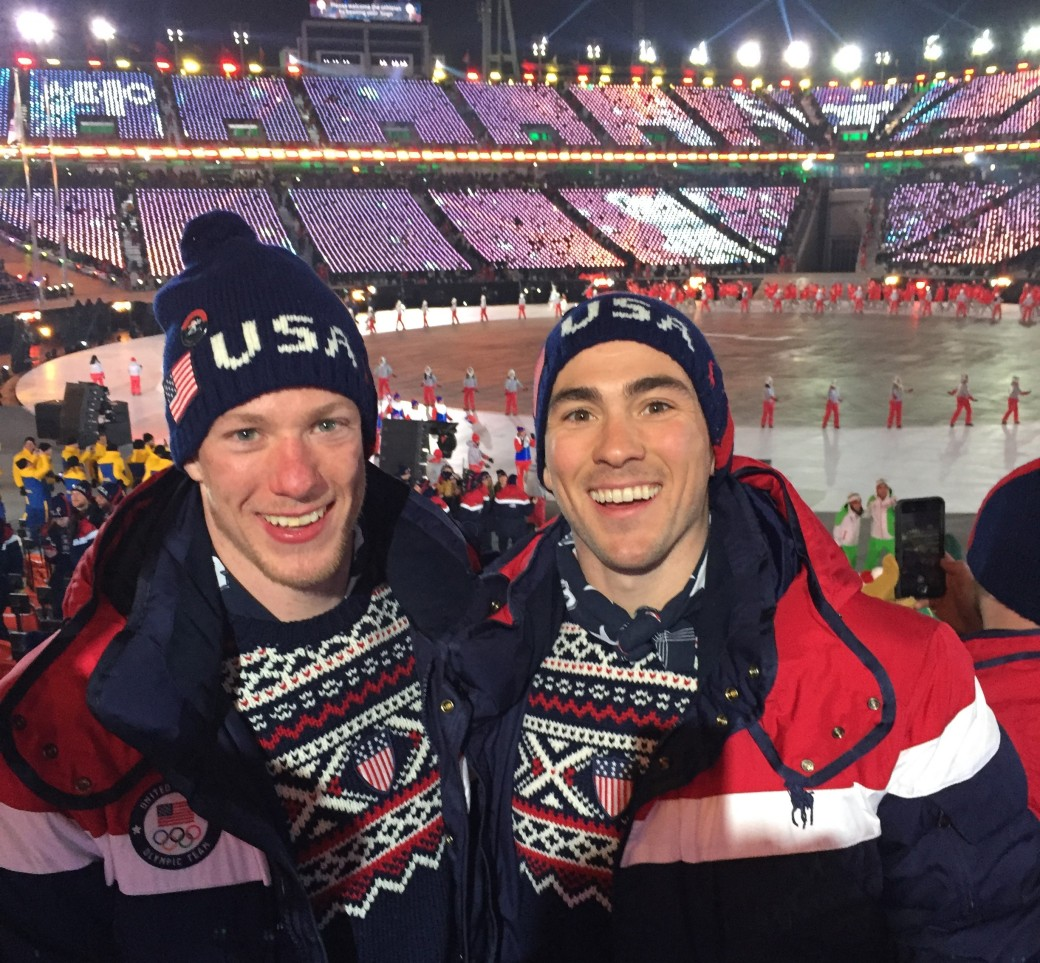 Hanneman Brothers Olympics